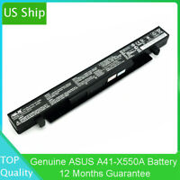 Genuine Original Li-ion Battery pack A41-X550A For Asus x552 15V 2950mAh 44Wh