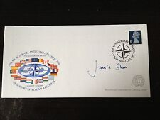 JAMIE SHEA - ASST SECRETARY GENERAL OF NATO - SIGNED FIRST DAY COVER