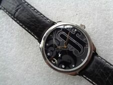 RARE BLACK DIAL FASTRACK BY TITAN INDIA WATCH DECO DIAL MENS QUARTZ WRISTWATCH