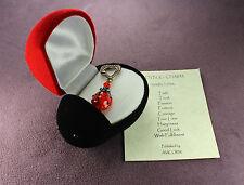 Ladybug Box Charm Set Totem Amulet Talisman Wish Good Luck True Love Passion