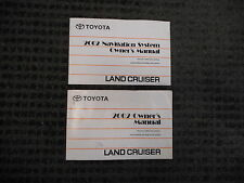2002 TOYOTA LAND CRUISER OWNERS AND NAVIGATION SYSTEM GUIDE