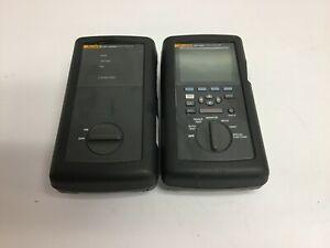 Fluke DSP-2000 Digital Network LAN Cable Analyzer w/ DSP-2000SR Smart Remote