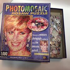 Photomosaic Jigsaw Puzzle Lady diana 1026 peices USA Buffalo Games