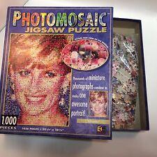 Photomosaic Jigsaw Puzzle Lady Diana 1026 Pieces USA Buffalo Games