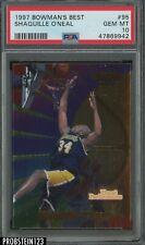 1997 Bowman's Best #95 Shaquille O'Neal Lakers HOF PSA 10 GEM MINT