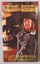 NECA Pirates of the Caribbean Black Pearl CAPT. BARBOSSA  Mini Bust, Mint in Box