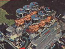 1961 HOT ROD FUEL SYSTEMS MAGAZINE STROMBERG CARBURETORS INJECTION SCTA MOON OLD
