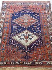 4 x 6 ft.  Antique Persian Afshar Hand Made 100%  Wool Oriental Rug