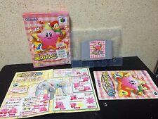 Hoshi no Kirby 64 Nintendo 64 Japan NTSC-J N64 boxed set The Crystal Shards