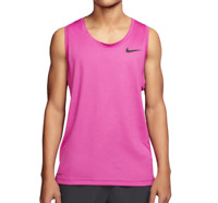 Nike Training Tank Top Mens Big and Tall Authentic Hyper Dry Lightweight Pink