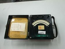 Vintage Westinghouse Portable D/C Voltmeter #PX-5 Style 936295 (Used)