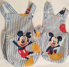 Mickey Mouse  Romper Newborn Choose One