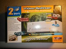 ATEN VS-92A  2 Port VGA Video Splitter NEW