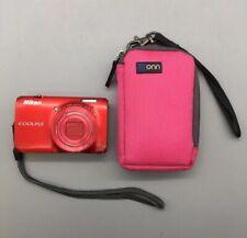 Nikon Coolpix S6300 16.0MP HD Digital Camera 10x Wide Optical Lens - G29