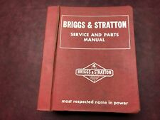 VINTAGE BRIGGS AND STRATTON SERVICE AND PARTS MANUAL MS-4344