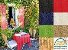 [6,46 €/m²] Gartentischdecke Weichschaum Tischdecke für Garten wetterfest eckig