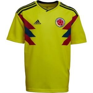 Official Adidas FCF Colombia / Columbia Home Climalite Football Shirt Age13-14
