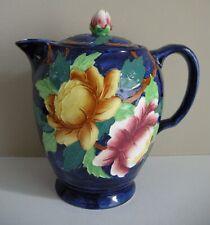 HTF Maling Coffee Pot/Hot Water Pot Peona, Dark Cobalt Blue, 6504
