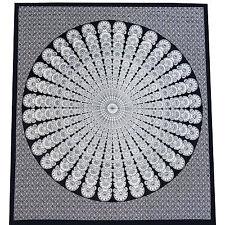 Tages-decke Mandala Wandbehang Bettüberwurf Deko-tuch Indien Goa Yoga Hippie Top
