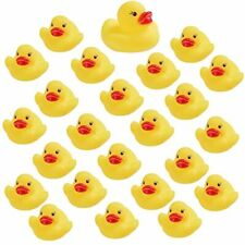 LOUHUA 50PCS Rubber Ducks for Baby Bath Toy Shower Birthday Party Favors Gift
