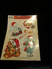 Classic Cling Hersheys Window Christmas Decorations New Vintage