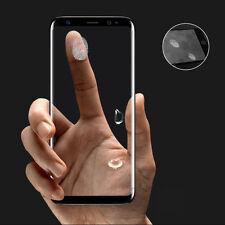 Complet Courbé 3D Trempé Verre Ecran Protection Film Samsung Galaxy S8 -noir