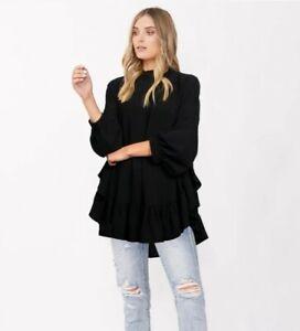 DECJUBA Blouse-Size XS/S-Black