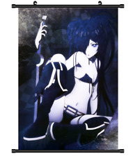 4327 Anime Black Rock Shooter Home Decor Poster Wall Scroll cosplay