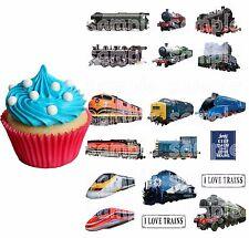 Eßbar Tortenaufleger Eisenbahn Zug Thomas Deko Modellbau Backen Muffin NEU Party