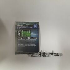 """Axis and Allies """"Flank Speed"""" HMNZS Leander (4/40) Game Piece & Card"""