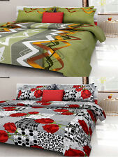 Homefab India Combo of 2 Cotton Double Bed Sheet (Combo797)