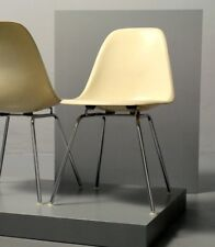 1x Herman Miller, eames Side Chair, fibre de verre, H-Base, DSX Vitra chaise vintage