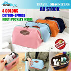 Women Handbag Purses Travel Organizer Toiletry Makeup Cosmetic Bag Pouch Clutch