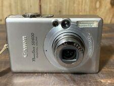 Canon PowerShot Digital ELPH SD600 /IXUS 60 6.0MP Digital Camera - Silver