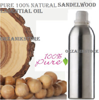 Essential SandalWood Oil Pure Natural 100% Therapeutic Aromatherapy 10ml-500ml