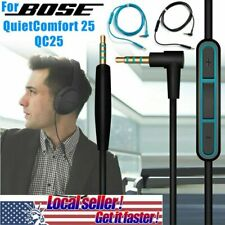 For Bose QuietComfort 25 Qc25 Headphones Replacement Audio Cable Wire Cord w/Mic