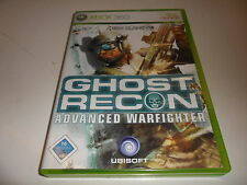 XBox 360   Tom Clancy's Ghost Recon - Advanced Warfighter
