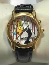 Vintage Sylvester & Tweety Bird Watch w/Tune