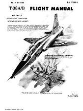 NORTHROP T-38A/B TALON FLIGHT MANUAL - T.O. No.1T38-A1