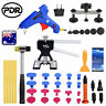 43pcs PDR Tools Paintless Dent Removal Kit Puller Lifter Bridge Hammer Glue Gun