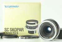 【Almost MINT in BOX TESTED】 Voigtlander SC Skopar 28mm f/3.5 Nikon S Mount JAPAN