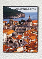 "SOUVENIR FROM DUBROVNIK CROATIA FRIDGE MAGNET 3"" x 4""-jkt6Z"