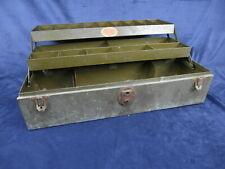 Vintage SturdiBilt Metal Tackle Box Fishing Tool Sturdi Bilt