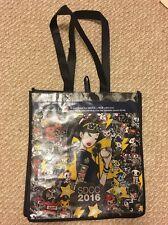 NIB SDCC 2016 Tokidoki Baseball Unicorno Shopper Tote Bag