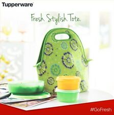 BRAND NEW TUPPERWARE Go Fresh Tote Lunch Set - Insulated - Free Shipping