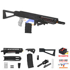 Worker MOD SIG SAUER MCX Short Dart Stefan Kit 7 Items for Nerf RETALIATOR Toy