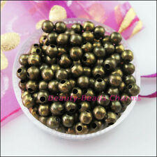 2.4mm 3.2mm 4mm 5mm 6mm Metal Round Ball Spacer Beads Charms