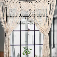 Macrame Wall Hanging Tapestry Room Home Door Window Curtain Wedding Backdrop