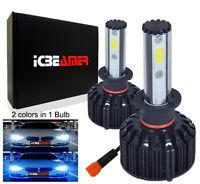 EuroDezigns Cool Blue H11 Xenon HID Look Foglights Bulbs 12v 55w