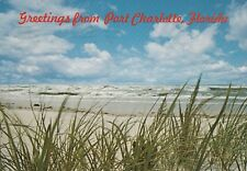 """*Florida Postcard-""""Greetings From Port Charlotte""""  (Postmarked 1983)"""